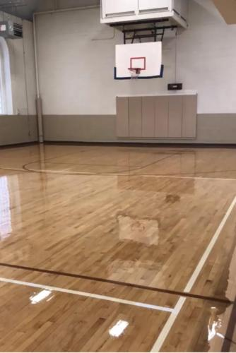 Basketball Court Refinishing